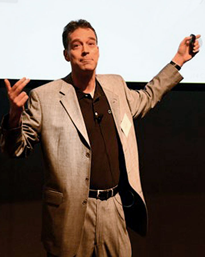 G. Mark Hardy - security and business speaker.